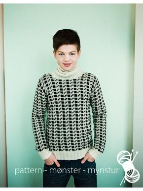 Helmønstret trøje