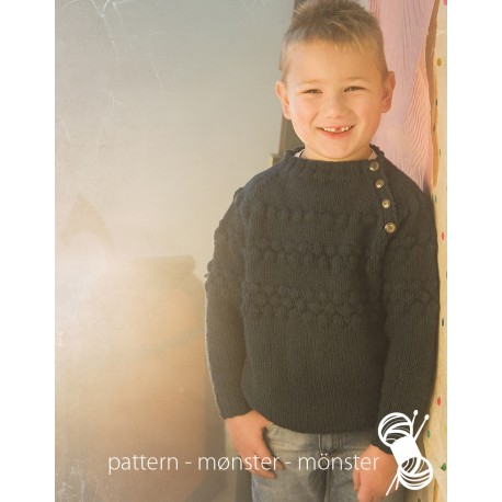 Boys Sweater Whit Bubbles
