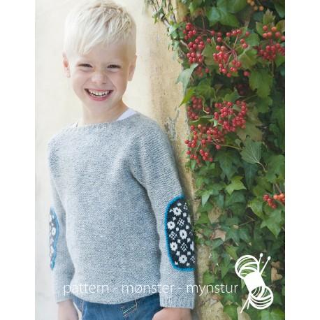 Grey Boys Sweater