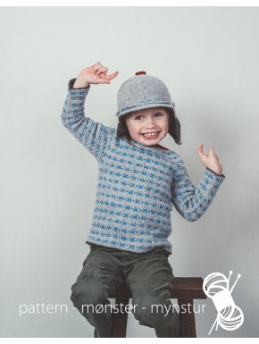 Sweater and hat for boys
