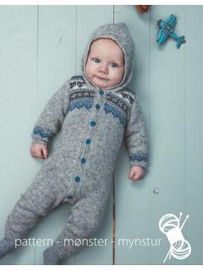 Babydragt med mønster