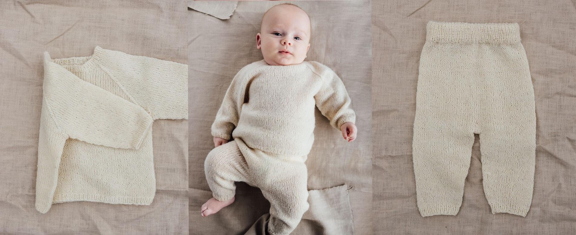 Nye strikkemønster til baby
